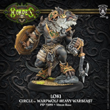 Loki - Circle Orboros Character Warbeast (resin/metal)